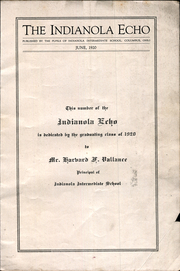 Page 3, 1920 Edition, Indianola Junior High School - Echo Yearbook (Columbus, OH) online yearbook collection