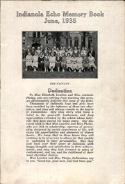Page 3, 1935 Edition, Indianola Junior High School - Echo Yearbook (Columbus, OH) online yearbook collection