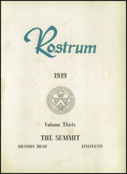 Page 5, 1949 Edition, Summit Country Day School - Rostrum Yearbook (Cincinnati, OH) online yearbook collection