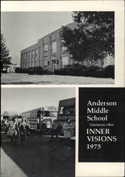 Page 3, 1975 Edition, Anderson Middle School - Yearbook (Cincinnati, OH) online yearbook collection