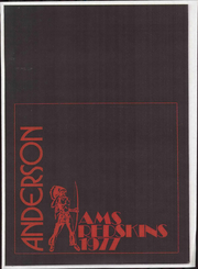 1977 Edition, Anderson Middle School - Yearbook (Cincinnati, OH)