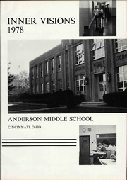 Page 7, 1978 Edition, Anderson Middle School - Yearbook (Cincinnati, OH) online yearbook collection