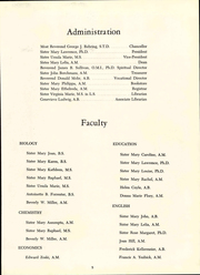 Page 9, 1965 Edition, Mary Manse College - Brescian Yearbook (Toledo, OH) online yearbook collection