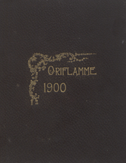 Franklin and Marshall College - Oriflamme Yearbook (Lancaster, PA) online yearbook collection, 1900 Edition, Page 1