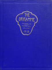 Franklin and Marshall College - Oriflamme Yearbook (Lancaster, PA) online yearbook collection, 1918 Edition, Page 1