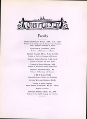 Page 14, 1923 Edition, Franklin and Marshall College - Oriflamme Yearbook (Lancaster, PA) online yearbook collection