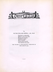 Page 5, 1923 Edition, Franklin and Marshall College - Oriflamme Yearbook (Lancaster, PA) online yearbook collection