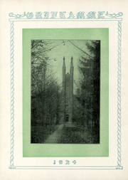 Page 11, 1924 Edition, Franklin and Marshall College - Oriflamme Yearbook (Lancaster, PA) online yearbook collection