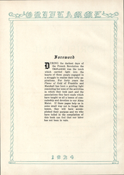 Page 3, 1924 Edition, Franklin and Marshall College - Oriflamme Yearbook (Lancaster, PA) online yearbook collection