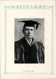 Page 5, 1924 Edition, Franklin and Marshall College - Oriflamme Yearbook (Lancaster, PA) online yearbook collection
