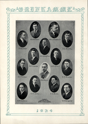 Page 7, 1924 Edition, Franklin and Marshall College - Oriflamme Yearbook (Lancaster, PA) online yearbook collection