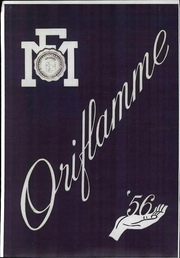 1956 Edition, Franklin and Marshall College - Oriflamme Yearbook (Lancaster, PA)