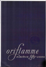 1957 Edition, Franklin and Marshall College - Oriflamme Yearbook (Lancaster, PA)