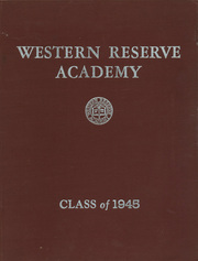 Page 1, 1945 Edition, Western Reserve Academy - Hardscrabble Yearbook (Hudson, OH) online yearbook collection