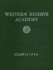 Page 1, 1946 Edition, Western Reserve Academy - Hardscrabble Yearbook (Hudson, OH) online yearbook collection