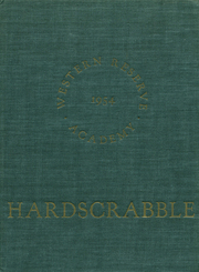 Page 1, 1954 Edition, Western Reserve Academy - Hardscrabble Yearbook (Hudson, OH) online yearbook collection