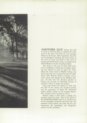 Page 11, 1954 Edition, Western Reserve Academy - Hardscrabble Yearbook (Hudson, OH) online yearbook collection
