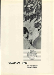 Page 7, 1963 Edition, Defiance College - Oraculum Yearbook (Defiance, OH) online yearbook collection
