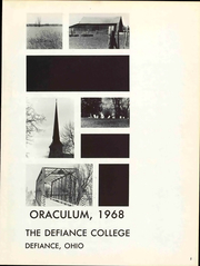 Page 7, 1968 Edition, Defiance College - Oraculum Yearbook (Defiance, OH) online yearbook collection
