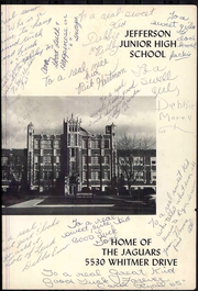 Page 5, 1965 Edition, Jefferson Junior High School - Jaguar Yearbook (Toledo, OH) online yearbook collection