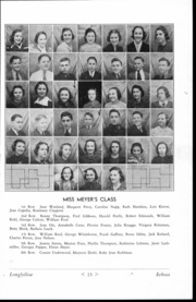 Page 16, 1937 Edition, Longfellow Junior High School - Echoes Yearbook (Toledo, OH) online yearbook collection