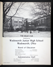 Page 5, 1964 Edition, Wadsworth Middle School - Bear Cub Yearbook (Wadsworth, OH) online yearbook collection