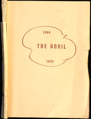Walnut Creek High School - Anvil Yearbook (Walnut Creek, OH) online yearbook collection, 1945 Edition, Page 1
