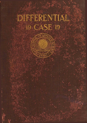 1919 Edition, Case School of Applied Science - Differential Yearbook (Cleveland, OH)