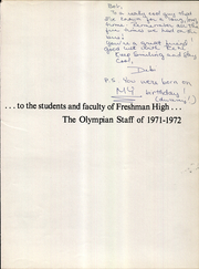 Page 5, 1972 Edition, Arcanum Freshman High School - Olympian Yearbook (Arcanum, OH) online yearbook collection