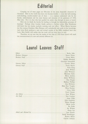 Page 13, 1958 Edition, Laurel School - Leaves Yearbook (Shaker Heights, OH) online yearbook collection