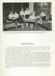 Page 10, 1960 Edition, Laurel School - Leaves Yearbook (Shaker Heights, OH) online yearbook collection