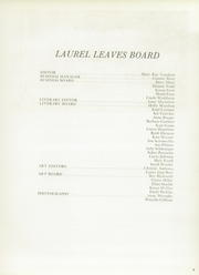 Page 11, 1960 Edition, Laurel School - Leaves Yearbook (Shaker Heights, OH) online yearbook collection