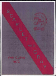 1972 Edition, Van Cleve Junior High School - Scarlet and Gray Yearbook (Troy, OH)