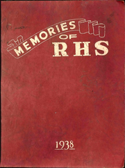 1938 Edition, Republic High School - Memories Yearbook (Republic, OH)