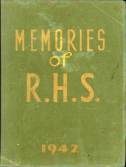 1942 Edition, Republic High School - Memories Yearbook (Republic, OH)