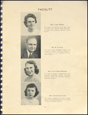 Page 9, 1950 Edition, Ripley Local High School - Sentinel Yearbook (Big Prairie, OH) online yearbook collection