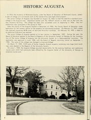 Page 12, 1960 Edition, Augusta College - White Columns Yearbook (Augusta, GA) online yearbook collection