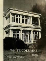 Page 5, 1960 Edition, Augusta College - White Columns Yearbook (Augusta, GA) online yearbook collection