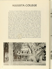 Page 10, 1961 Edition, Augusta College - White Columns Yearbook (Augusta, GA) online yearbook collection