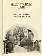 Page 5, 1961 Edition, Augusta College - White Columns Yearbook (Augusta, GA) online yearbook collection