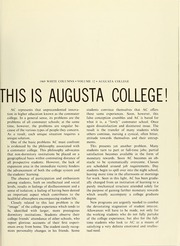 Page 5, 1969 Edition, Augusta College - White Columns Yearbook (Augusta, GA) online yearbook collection