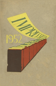 Page 1, 1952 Edition, High School of Graphic Arts and Printing - Impression Yearbook (Cincinnati, OH) online yearbook collection
