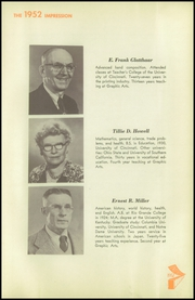 Page 11, 1952 Edition, High School of Graphic Arts and Printing - Impression Yearbook (Cincinnati, OH) online yearbook collection