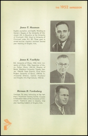 Page 12, 1952 Edition, High School of Graphic Arts and Printing - Impression Yearbook (Cincinnati, OH) online yearbook collection