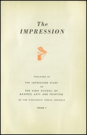 Page 3, 1952 Edition, High School of Graphic Arts and Printing - Impression Yearbook (Cincinnati, OH) online yearbook collection