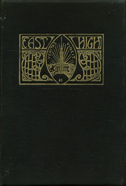 1921 Edition, East High School - Tiger Yearbook (Cincinnati, OH)