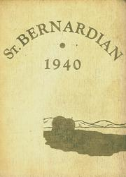 St Bernard High School - St Bernardian Yearbook (St Bernard, OH) online yearbook collection, 1940 Edition, Page 1