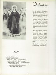 Page 10, 1952 Edition, St Ursula Academy - Crest Yearbook (Cincinnati, OH) online yearbook collection