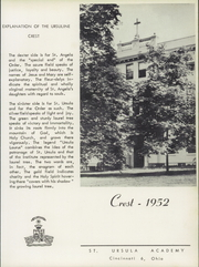 Page 9, 1952 Edition, St Ursula Academy - Crest Yearbook (Cincinnati, OH) online yearbook collection