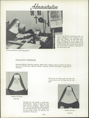 Page 10, 1954 Edition, St Ursula Academy - Crest Yearbook (Cincinnati, OH) online yearbook collection